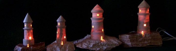 Alabaster Lighthouses